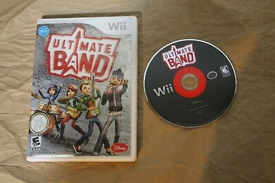 USED Ultimate Band Nintendo Wii (NTSC) Canadian Seller!!