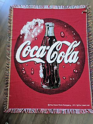 Vintage Coca-Cola Throw Rug