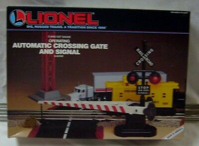 Lionel 6-62162 Automatic Crossing Gate And Signal