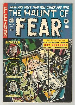 HAUNT of FEAR # 16 Classic Headless Body cover by GHASTLY Graham Ingels!