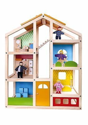 Doll House Furnished with Accessories *Premium Quality*  TKB867-S3