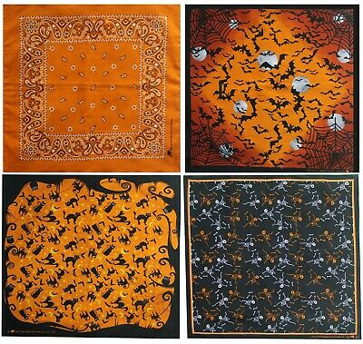 Halloween Design Bandanas 4 Pack