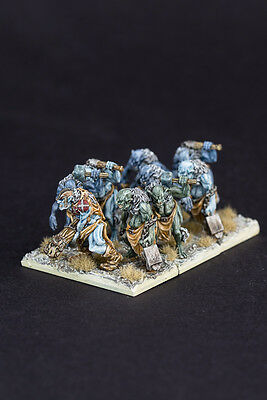 Unit of Trolls for Army of Erebos, Orcs and Goblins etc. Warmaster scale 10mm