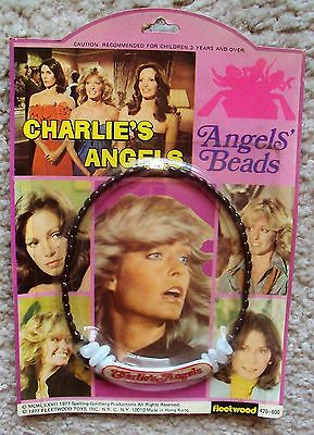 CHARLIE'S ANGELS Jill ANGELS' BEADS Kate Jackson FARRAH FAWCETT Jaclyn Smith MIP