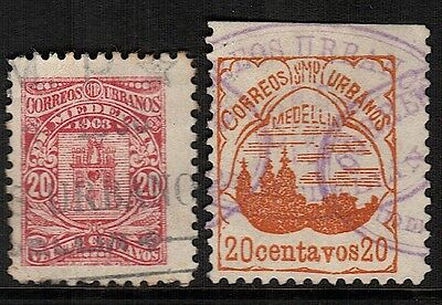 Colombia-Medellin, Used, Unlisted (2)