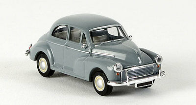 MORRIS MINOR in GREY - FULLY ASSEMBLED HO SCALE by BREKINA