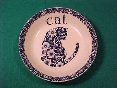 Vintage CALICO CAT BOWL NORMA STERMAN ROYAL CROWNFORD STAFFORDSHIRE ENGLAND
