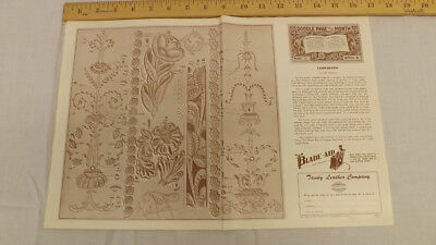 """Vtg Craftaid Doodle Page """"Comparison Series 6/3 by Cliff Ketchum"""