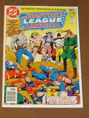 Justice League Of America #159 Fn+ Annual Jla & Jsa Team-Up Vs Historical Heroes