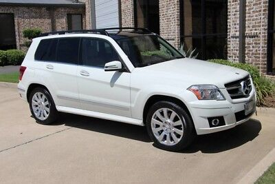 2012 Mercedes-Benz GLK-Class  Arctic White Premium 1 Package Panorama Sunroof Heated Seats 19s Keyless Go More