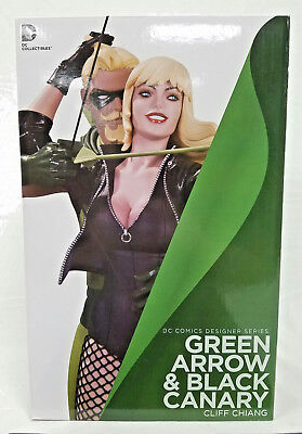 Green Arrow and Black Canary Statue DC Comics Designer Series Limited 5200 New