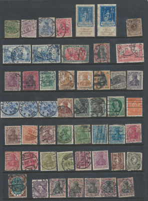 Germany Old lot - 1 page