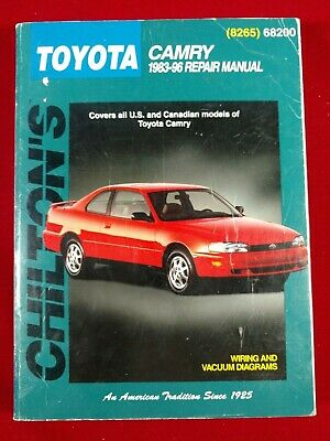 Toyota camry 1983 96 by chilton automotive editorial staff 1998 zg chiltons toyota camry 1983 1996 repair manual pub 1998 paperback fandeluxe Choice Image