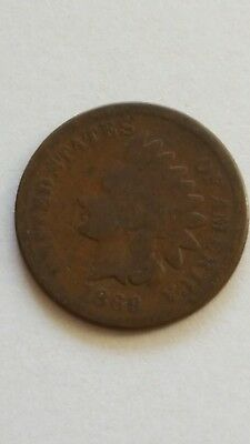 1869 Indian Head Cent ***No Reserve*** low mintage, rare coin