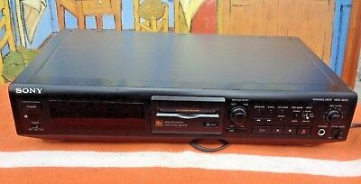 Sony Minidisc Player In Good Condition And Working Order Grab A Bargain