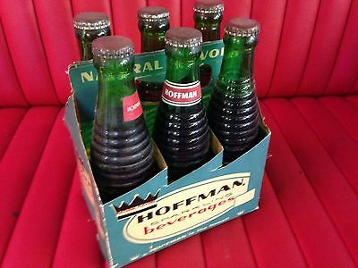 NOS ( New Old Stock ) Hoffman Soda Ginger Ale 6 Pack Soda Bottles