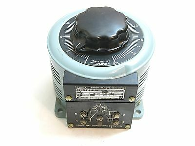 The Superior Electric Co Powerstat Type 126 Bp124201 Variable Transformer 15A