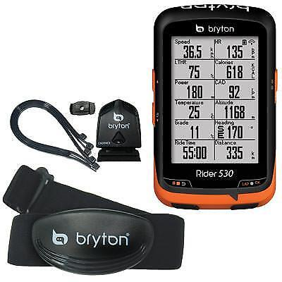 Bryton Gps Comp Rider 530T Computer W/ Cadence Heart Rate