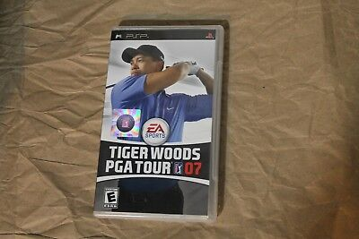USED Tiger Woods PGA Tour 07 Sony PSP  Canadian Seller!!