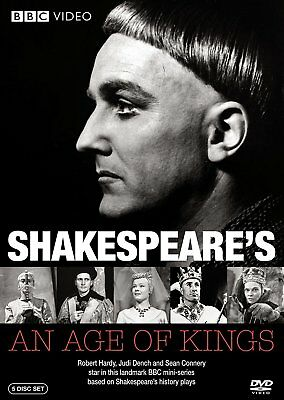 Shakespeare - An Age of Kings (DVD, 2009, 5-Disc Set)   *****BRAND NEW*****