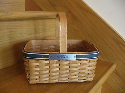 Longaberger Member Basket 2007 Rare Collectors Club open-weave *free shipping!*