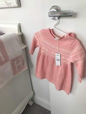 purebaby knit dress brand new with tags