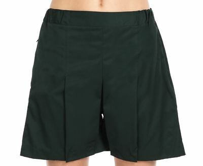 Stubbies School Wear Ladies Adult Bottle Green Skort sz12A BNWT (43)