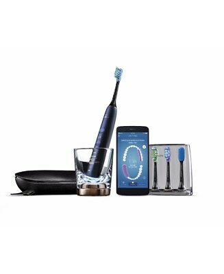 New Philips Sonicare Diamond Clean Connected Luna Blue Premium Electric Toothbru