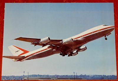 Prototype Boeing 747 Jetliner Still Used To Test Engines In 1970S - Vintage Pic