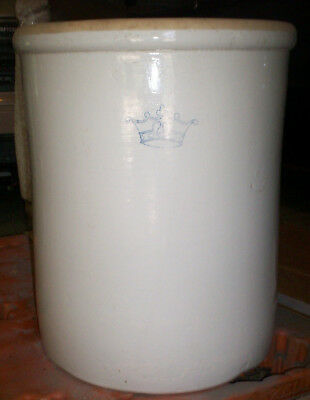 Vintage 20 Gallon Crock Robinson Ransbottom Pottery Of Roseville, Oh
