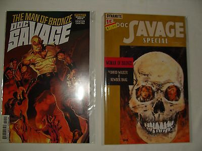 Lot 2 Doc Savage 1 Special & Annual 2014 Man Of Bronze - Near Mint