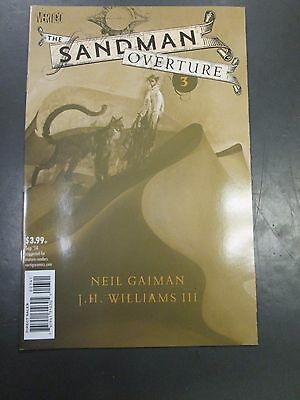 SANDMAN OVERTURE 3 DAVE MCKEAN VARIANT COVER  Neil Gaiman JH WIlliams III HOT