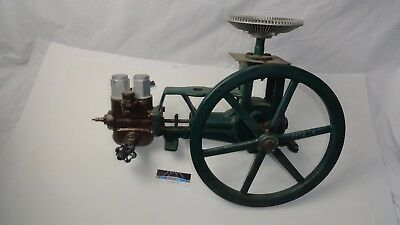 Antique Vintage Kalamazoo Electric National Water Lift co.Cast Iron water pump