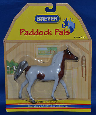 Breyer~1999-2000~Paddock Pals~Half-Arabian~Bay Pinto Stallion~NEW