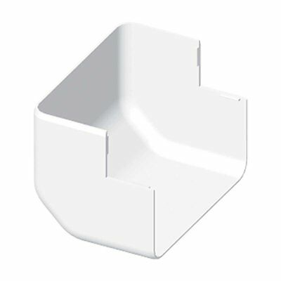 Kopos Electrical Conduit Ductwork 8546 HB EKE Outer Angle Set of 2, White, 8566