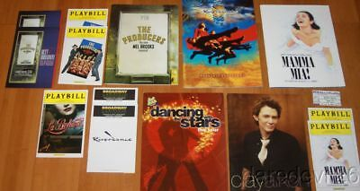 Broadway Theater Playbill Program Lot Mamma Mia Producers Dancing With The Stars