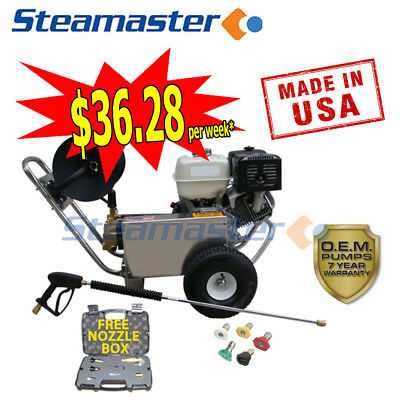 High Electric Sewer Cleaner Water Jetter Petrol Drain Cleaning Hurricane 4200Psi