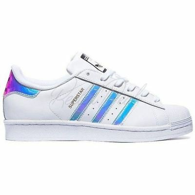 Adidas Superstar Originals Shoes Women Silver White Trainer W Sneakers Classic
