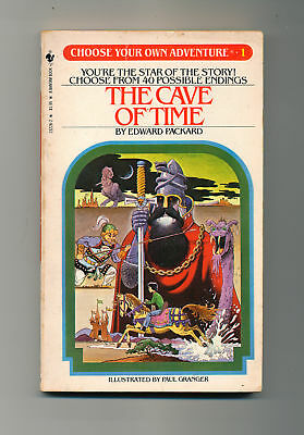 Choose your own Adventure - Cave of Time - Book 1 - Edward Packard - CYA 1
