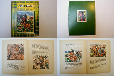 Willy Poney - Marie-José Maury - 1953 - 16 pages 27 x 21 cm