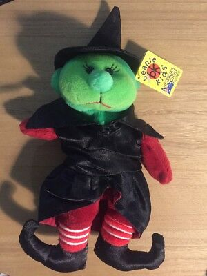 Beanie Kids Cackle The Witch Bear BK363