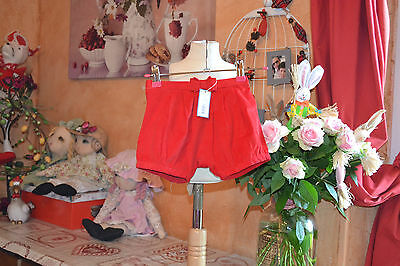 short jacadi neuf double neoud devant revers 12 mois ideal collant