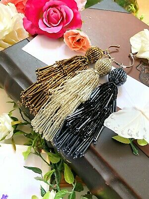 1 Pc Latest Indian Latkan Tassels for Lehenga, Sari Blouse craft lamp shade