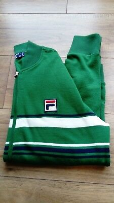 mens green fila top