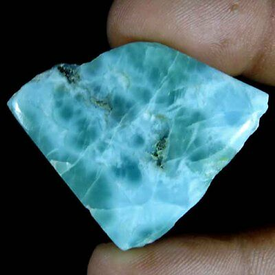 94.25cts GENUINE NATURAL GORGEOUS DOMINICAN SKY LARIMAR ROUGH A++ GEMSTONE