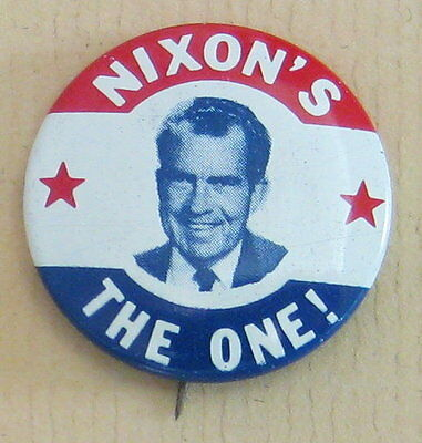Campaign Button Richard M. Nixon 1968 (# 710)