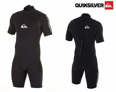 QUIKSILVER SHORTY SYNCRO BASE 2/2mm Wet Suit Black