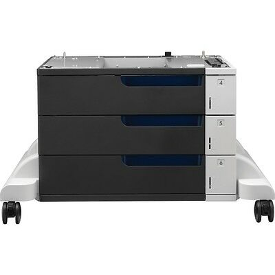 BRAND NEW GENUINE HP CE725A, Color LaserJet 3x500-Sheet Paper Feeder and Stand