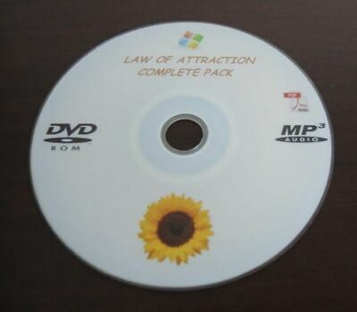 Law Of Attraction Love Confidence Wealth Attract What You Desire Self Help DVD