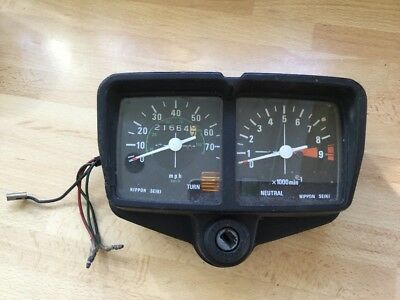 Honda CG125 clocks